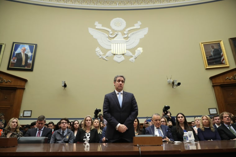 Image: Former Trump Lawyer Michael Cohen Testifies Before House Oversight Committee
