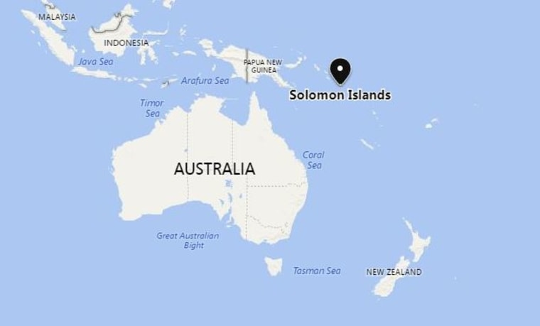 Ship leaks tons of oil near Solomon Islands in Pacific Ocean