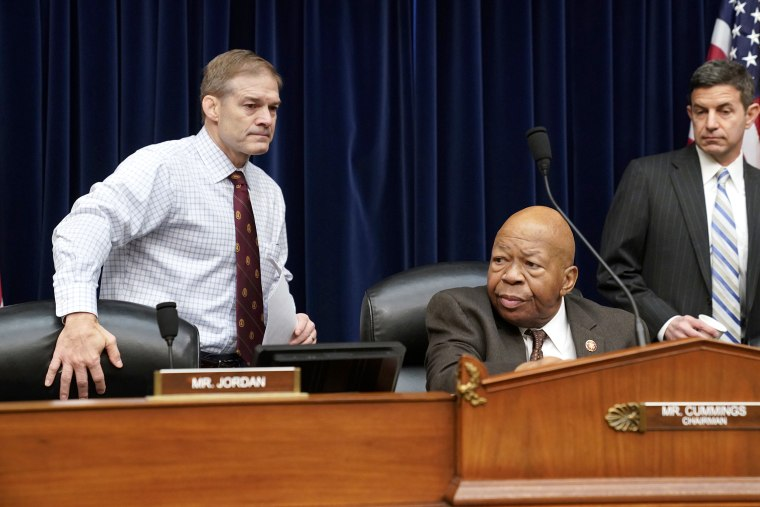 Image: Jim Jordan, Elijah Cummings