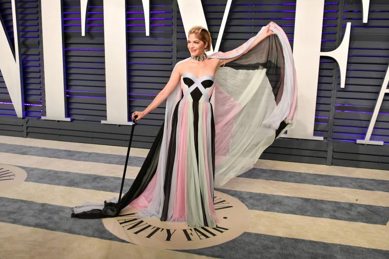 Image: Selma Blair, 2019 Vanity Fair Oscar Party Hosted By Radhika Jones - Arrivals