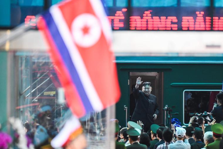 Image: VIETNAM-NKOREA-DIPLOMACY