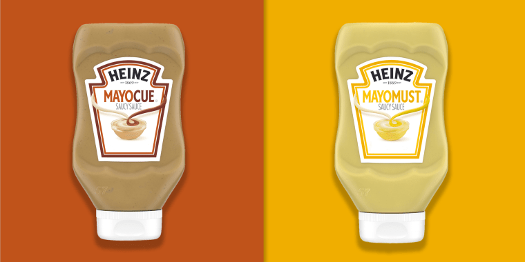 2 new Heinz products: Mayocue and Mayomust
