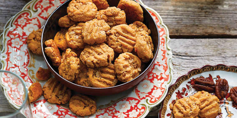 Oxmoor House Southern Living Parties - Sundown On the Grounds Chapter - Crunchy Cheese Coins