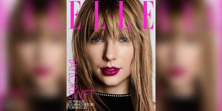 Taylor Swift Elle magazine