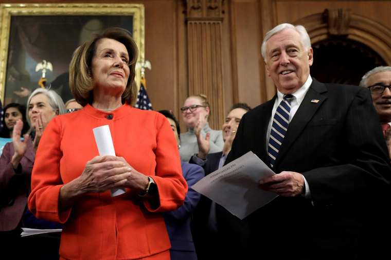 Image: House Speaker Nancy Pelosi attends House Democrats news conference on Capitol Hill in Washington