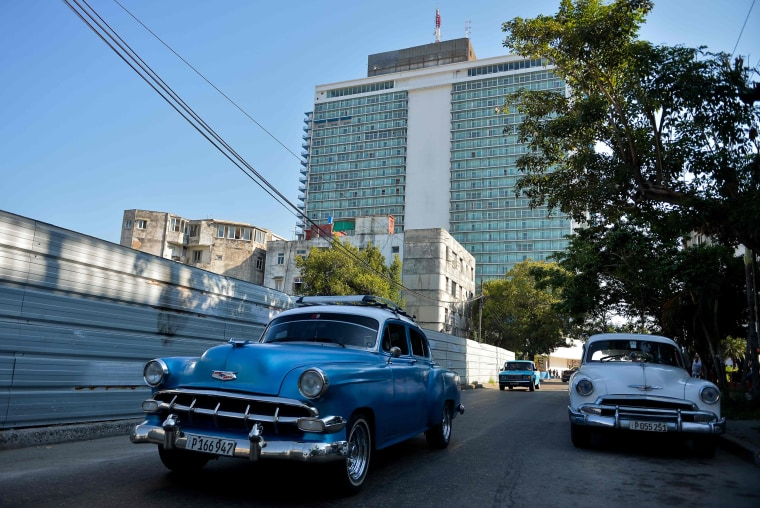 Image: The Habana Libre Hotel, formerly the Havana Hilton