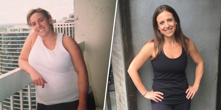 The '50 percent rule' helped this woman lose 60 pounds (and keep it off)