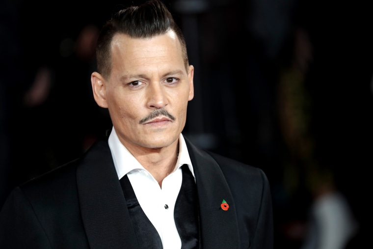 Image: Johnny Depp attends a premiere in London on Nov. 2, 2017.
