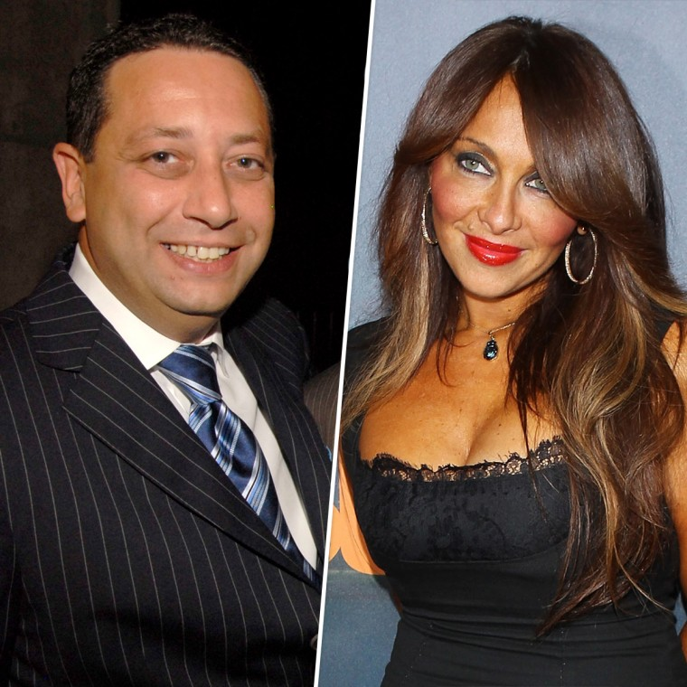 Image: Felix Sater at a TRUMP Soho press conference in New York in 2007; Stella Stolper at an event in Hollywood in 2011.