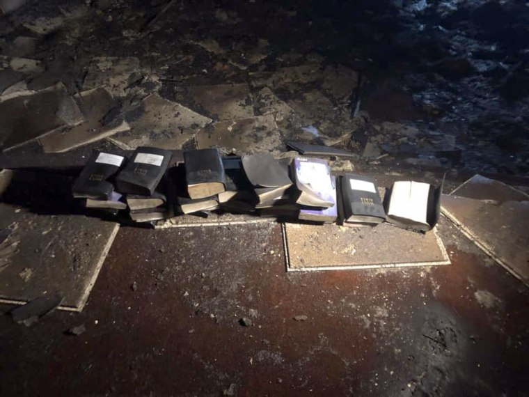 Image: Unburned Bibles