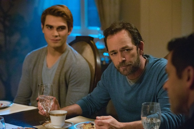Image: Luke Perry, KJ Apa, Chapter Twenty-Eight: There Will Be Blood