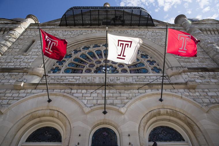 Image: The Temple University campus in Philadelphia on Oct. 10, 2017.