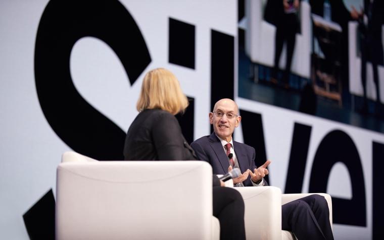 NBA commissioner 'surprised' by changes after AT&T, Time Warner merger