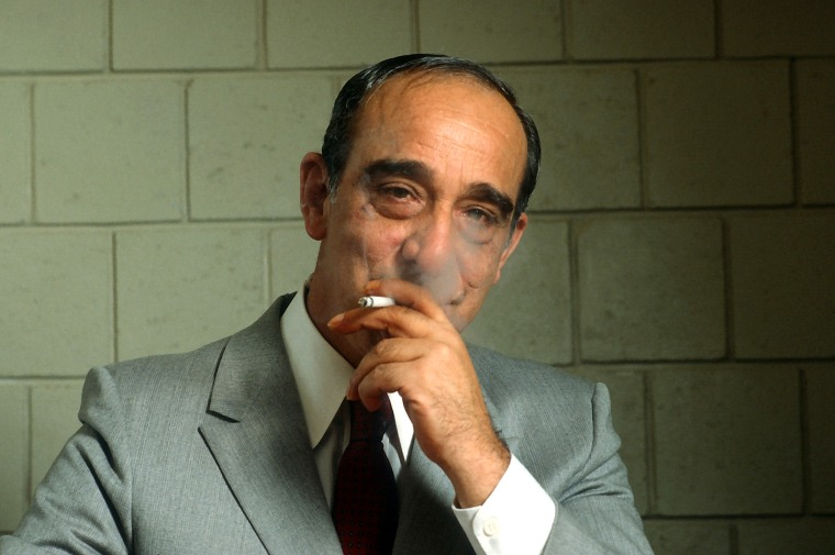 Carmine Persico Poses For A Portrait
