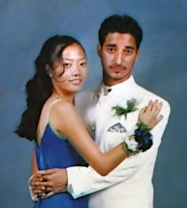 Hae Min Lee and Adnan Syed at Junior Prom.