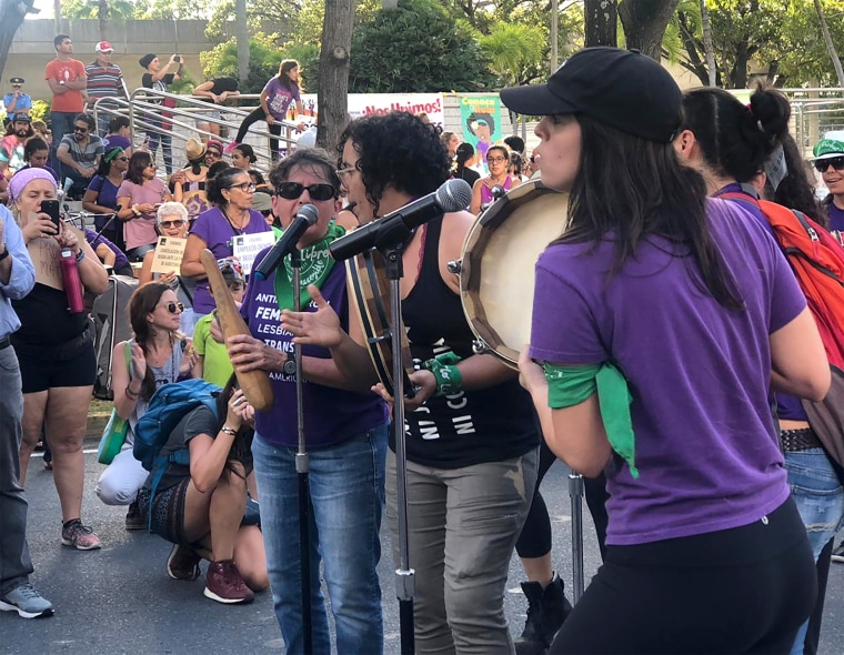 Image: Puerto Rico WOmen's Day March