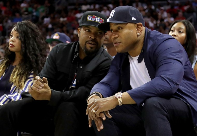 Image: Ice Cube, LL Cool J, BIG3 - Week Two