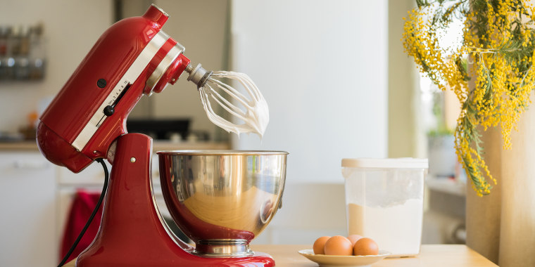The body of a stand mixer is ground zero for flour, powdered sugar and whatever else goes into the mixing bowl, so it should be wiped down after each use.