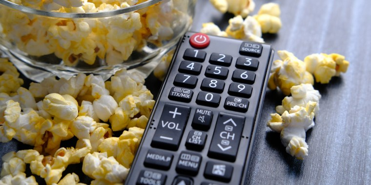 You should be cleaning your TV remote at least once a month (and more often, if a family member is sick).