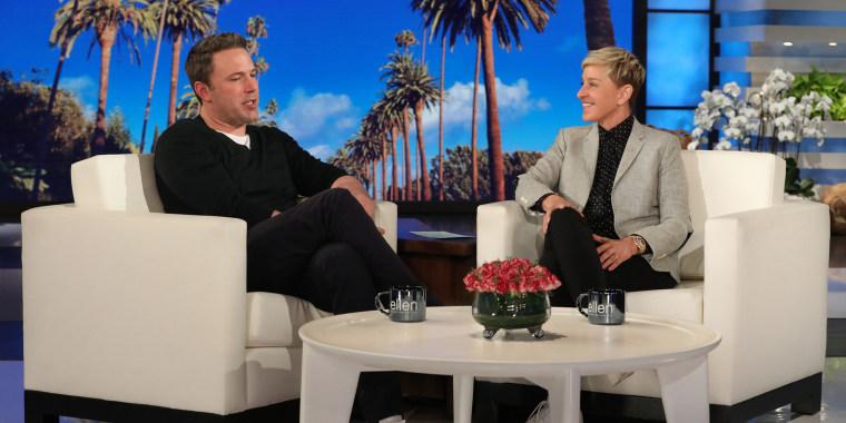 "Ben Affleck on ""Ellen"""
