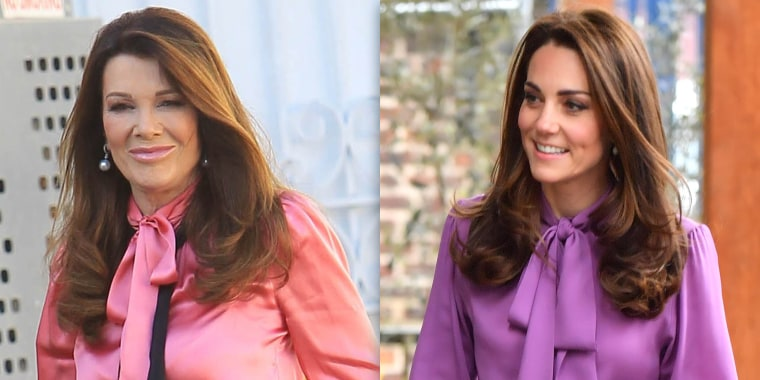 Kate Middleton, Lisa Vanderpump bow blouse