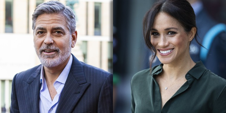 George Clooney explains why he spoke out for friend Meghan Markle