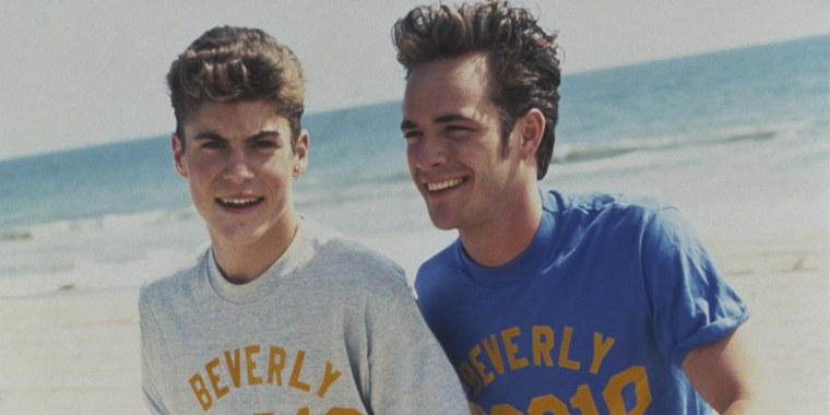 Brian Austin Green and Luke Perry,