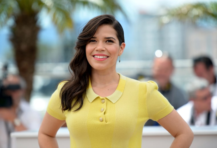 Image: America Ferrera attends a premiere at the Cannes Film Festival on May 16, 2014.