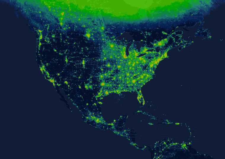 New interactive map shows how light pollution affects your hometown