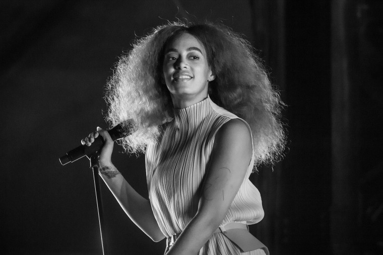 Solange performs during Austin City Limits Festival at Zilker Park on Oct. 13, 2017.