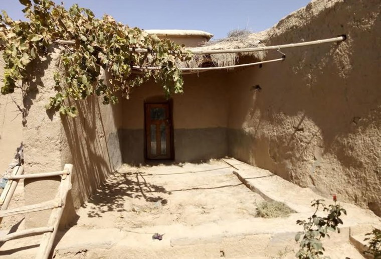 Image: The house where Taliban supreme leader Mullah Mohammad Omar allegedly lived in till his death in 2013