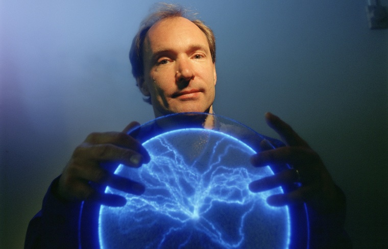 Tim Berners-Lee Portrait Session - July 9, 2004