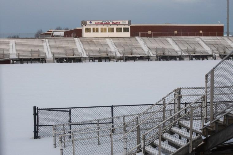 Image: Herlinger Field at Richland High School in Johnstown