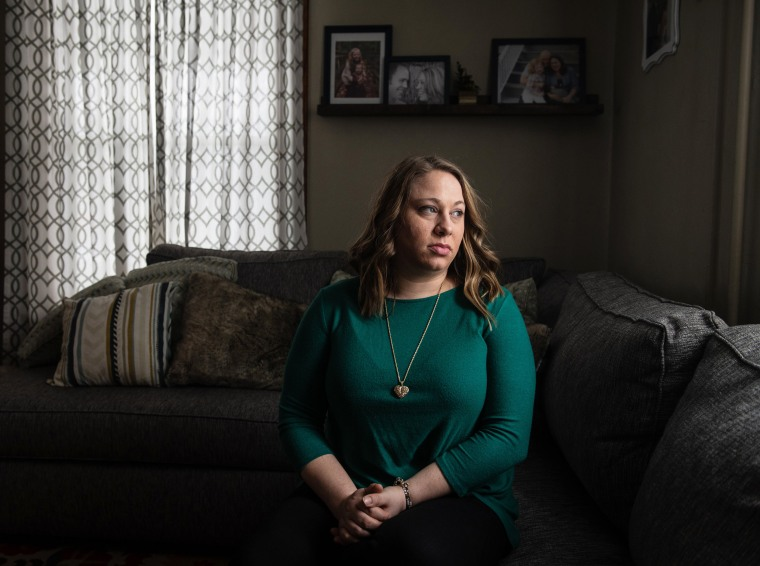 Amanda Dorich, 33, said she wishes now her family had filed a complaint back in the 1990s when she told them Barto assaulted her.Justin Merriman / for NBC News