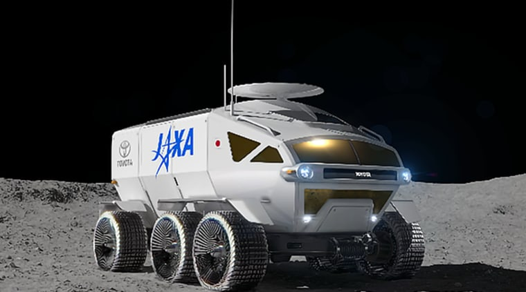 Concept proposal for the pressurized rover being studied by JAXA and Toyota