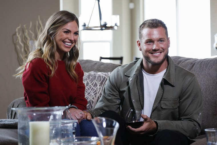 Colton and Hannah B. meet up with Colton's parents in his hometown of Denver during the filming of The Bachelor.