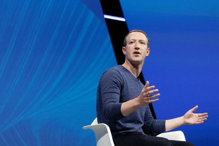 Image: Mark Zuckerberg, Salon Viva Technology 2018, Startup connect : Day One