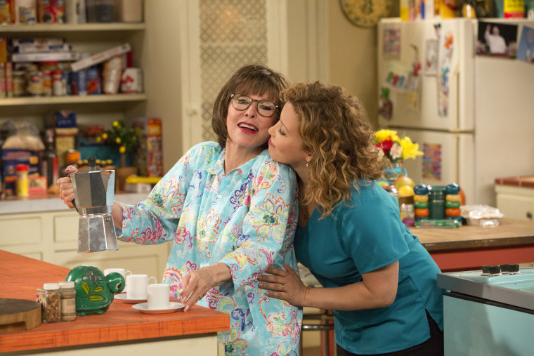 "Image: Rita Moreno and Justina Machado in ""One Day at a Time."""