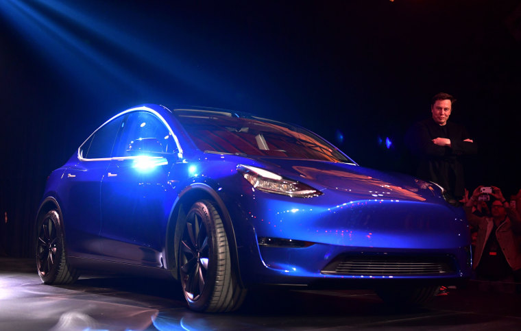 Image: US-AUTO-TESLA-MODEL Y