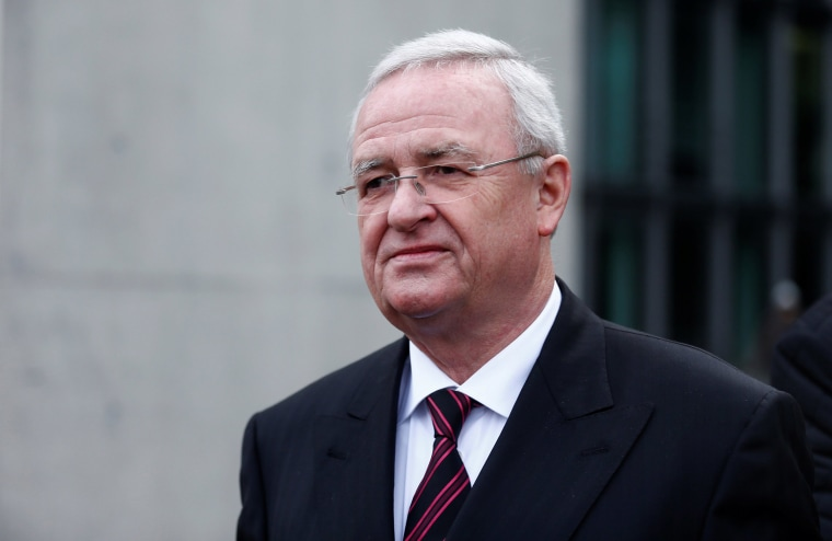 Image: Former Volkswagen chief executive Martin Winterkorn leaves after testifying to a German parliamentary committee on the carmaker's emissions scandal in Berlin