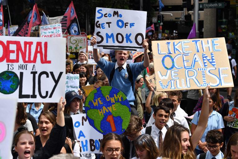 Image: AUSTRALIA-CLIMATE-YOUTH-STUDENT-STRIKE