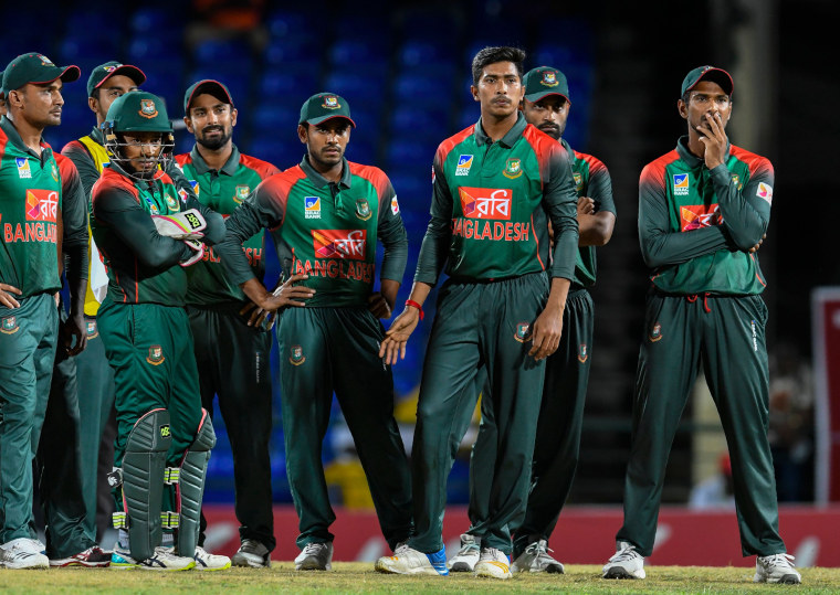 Image: Bangladesh cricket team