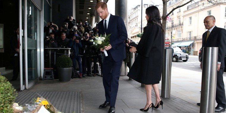 Prince Harry and Meghan Markle pay tribute to New Zealand shooting victims