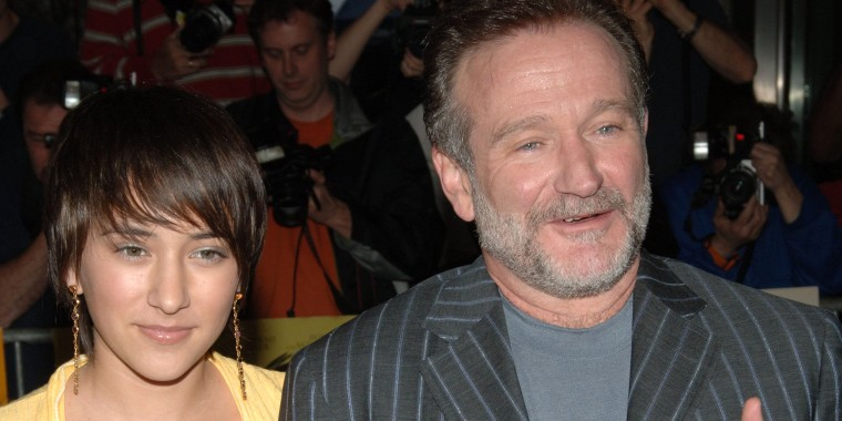 Robin Williams and daughter