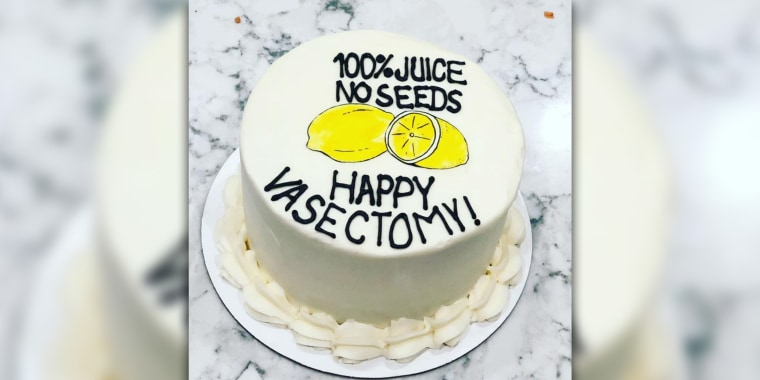 Bakery creates hilarious 'Happy Vasectomy' cake for Nashville dads and moms