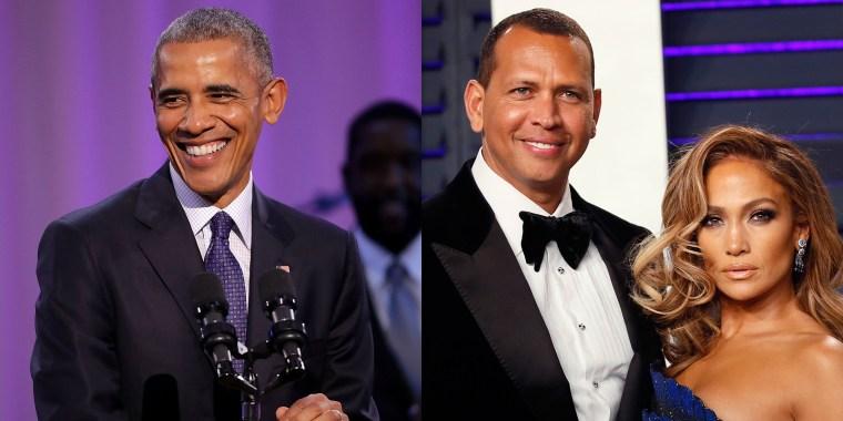 Barack Obama/A-Rod and J.Lo