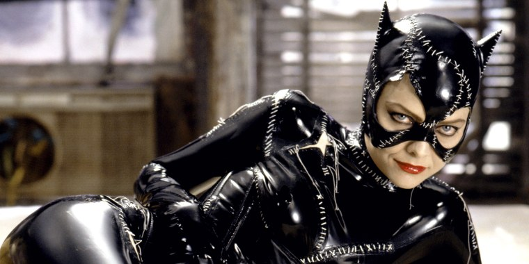 "Michelle Pfeiffer as Catwoman in ""Batman Returns"""