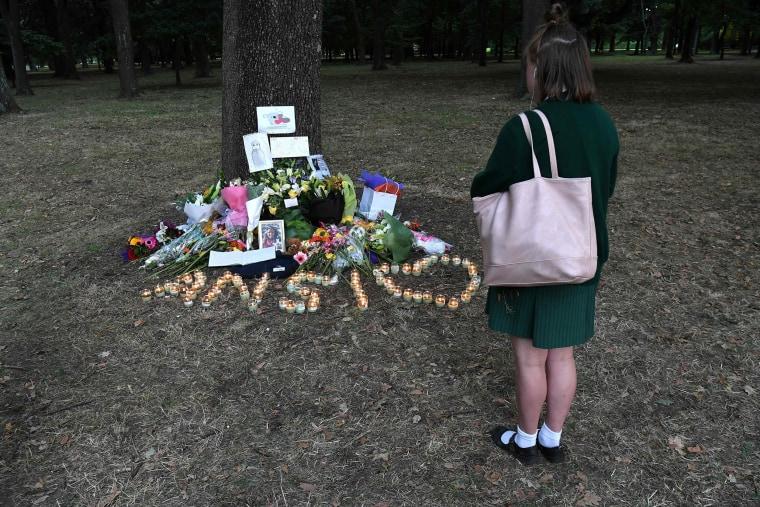 Image: New Zealand shooting memorial
