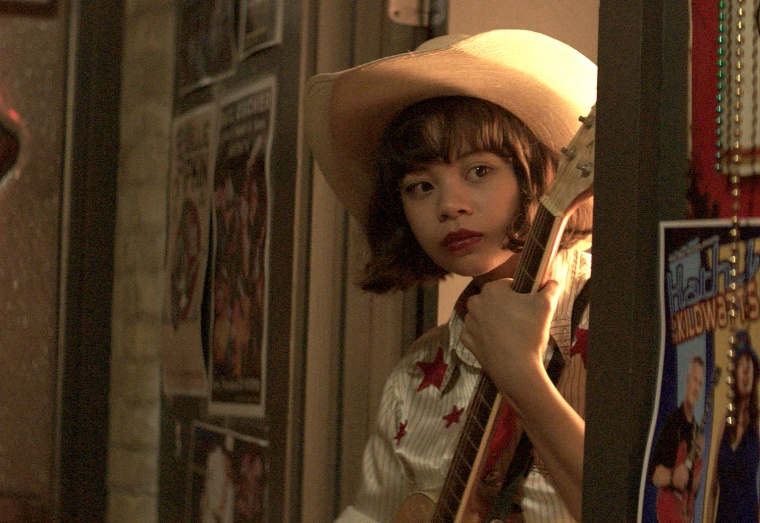 "Eva Noblezada stars in ""Yellow Rose"" as Rose, a 17-year-old Filipino-American girl from Texas who secretly dreams of becoming a country music star."