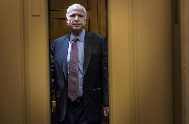 Image: John McCain, Senate healthcare reform